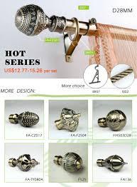 aluminum curtain rod end cap cheap curtain finial wholesale buy