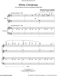 berlin white christmas sheet music for piano four hands duets