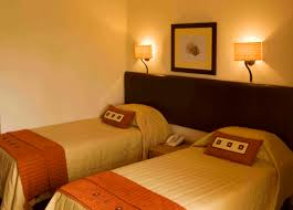 Double King Size Bed Offering Space And Comfort The Standard Hotel Room At Glenburn