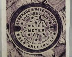 new orleans water meter necklace new orleans meter etsy