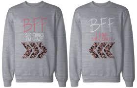 sweater bff bff matching shirts bestfriend sweaters bff
