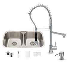 vigo vg15336 all in one 32 undermount stainless steel kitchen sink