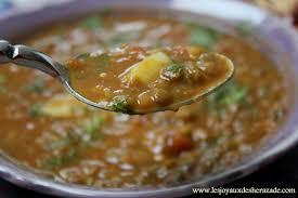 comment cuisiner les lentilles soupe aux lentilles les joyaux de sherazade