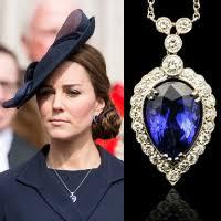 earrings kate middleton g collins tanzanite pendant necklace earrings kate middleton