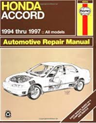 honda car manual honda accord and prelude 1984 95 chilton total car care series