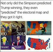 2016 Election Prediction Youtube by Simpsons Predicted The Future Yet Again 2016 United States