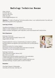 Sample Resume Objectives For Technicians by Radio Technician Cover Letter