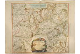 French Map 18th Century French Map Tiaras And Trianon