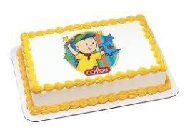 caillou cake topper caillou edible image cake topper toys
