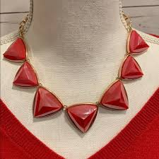 red necklace jewelry images Jewelry red bauble necklace poshmark jpg