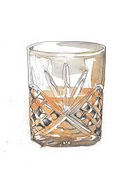 cocktail illustration de winton paper co bespoke cocktail illustrations de winton