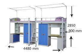 New Style Steel Bunk BedDouble Decker BedMetal Bunk Bed Design - Steel bunk beds
