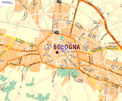 map of bologna general location