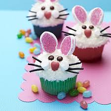 Decorate Easter Cakes Cupcakes by Easy Easter Bunny Cupcakes Bunny Face Easter Bunny And Bunny
