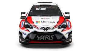 toyota builds massive wing attaches yaris wrc to it