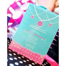 jewelry birthday party printable invitation