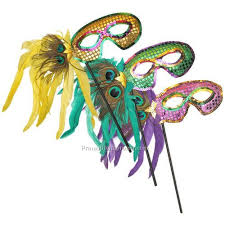 mardi gras wholesale mardi gras feather mask on 10 stick china wholesale mam125162