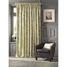 Yellow Brown Curtains Yellow Curtains U0026 Drapes Window Treatments The Home Depot
