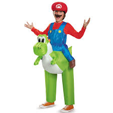 scooby doo inflatable halloween buy super mario bros ride a yoshi inflatable child costume
