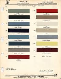 1964 chevrolet paint chips xframechevy com