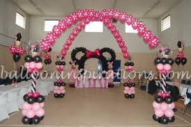 minnie mouse birthday decorations minnie mouse themed party archives ballooninspirations