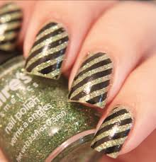 file nail art with stripes jpg wikimedia commons