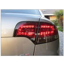 audi a4 tail lights 05 08 audi a4 s4 rs4 4dr sedan euro style led tail lights red