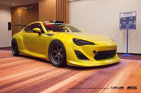 scion yellow ml24 scion fr s toyota gt86 version 2 wide body kit automotive