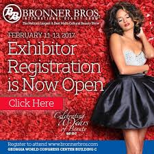 bonner brother winter hairshow in atlanta bronner bros on twitter exhibitor and attendee registration is