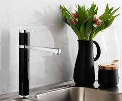 sensor kitchen faucet black motion sensor faucet and elegant vase of flower for adorable