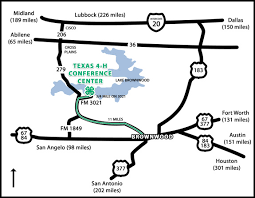 Texas travel directions images Directions to the texas 4 h conference center jpg