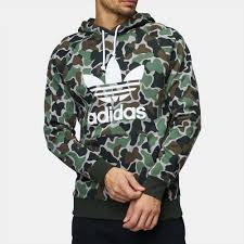adidas hoodie shop multi adidas originals camouflage trefoil hoodie for mens by