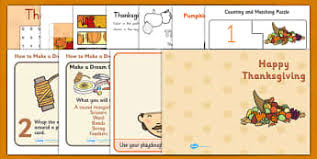 thanksgiving early years eyfs harvest usa page 1