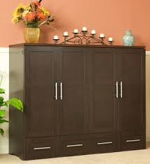 queen murphy bed cabinet how cool is this it turns into a bed a more compact murphy bed i
