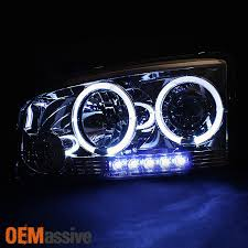 2008 dodge charger lights 2006 2008 dodge charger smoked halo led projector headlights