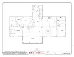 30 timber frame home plans one story one story timber frame house