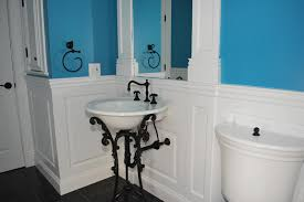 wainscoting ideas bathroom moisture resistant mdf wainscoting is ideal for bathrooms and