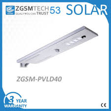 parking lot lighting manufacturers zgsm pvld40 china 40w solar led street light all in one for solar