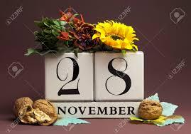 november seasonal flowers save the date seasonal individual calendar for november 28 with