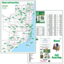 Map Of Florida Gulf Side by Golf Maps Fore Better Golf Inc
