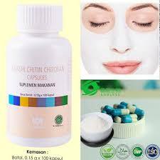 Jual Masker Wajah Untuk Kulit Berminyak masker wajah chitin citosan untuk kulit berminyak dan memutihkan