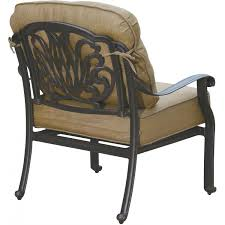 Patio Club Chairs Darlee Elisabeth 5 Patio Pit Seating Set With