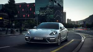 new porsche 4 door 2018 porsche panamera turbo s e hybrid review power at a price