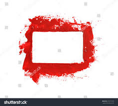 Red Paint by Red Paint Frame Stock Illustration 302311016 Shutterstock
