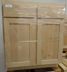 unfinished blind base cabinet cabinets builders bargain center discount building materials