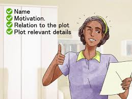 Character Sketch Essay Sample How To Write A Character Sketch With Pictures Wikihow