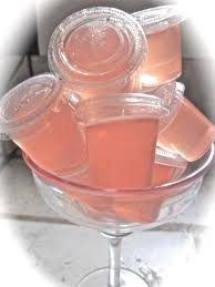 pretty alcoholic drinks nuvo jello shots recipe pink jello shots divas can cook
