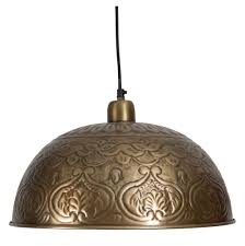 hammered metal pendant light l moroccan pendant light fixtures that will transform your home