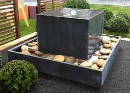 contemporary outdoor fountains best 25 contemporary outdoor