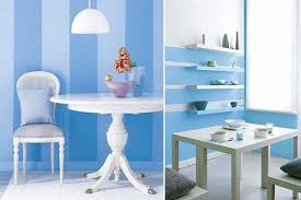 Interior Decorating Paint Schemes Interior Paint Ideas Blue Stripes Striped Walls Interior